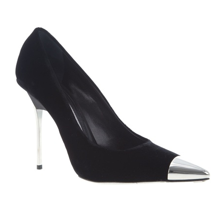 Gianmarco Lorenzi Cap Toe Pump ($418, originally $908)