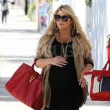 Jessica Simpson shopped with a friend in LA.