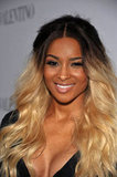 Ciara smiled at Valentino's 50th anniversary party in LA.