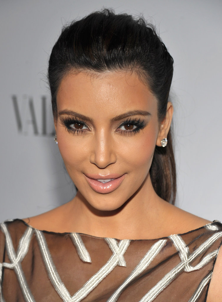 Kim Kardashian attended the celebrations for Valentino's 50th anniversary in LA.