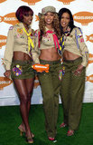 Destiny's Child was in their prime, and happily showing off their toned tummies, in 2001.