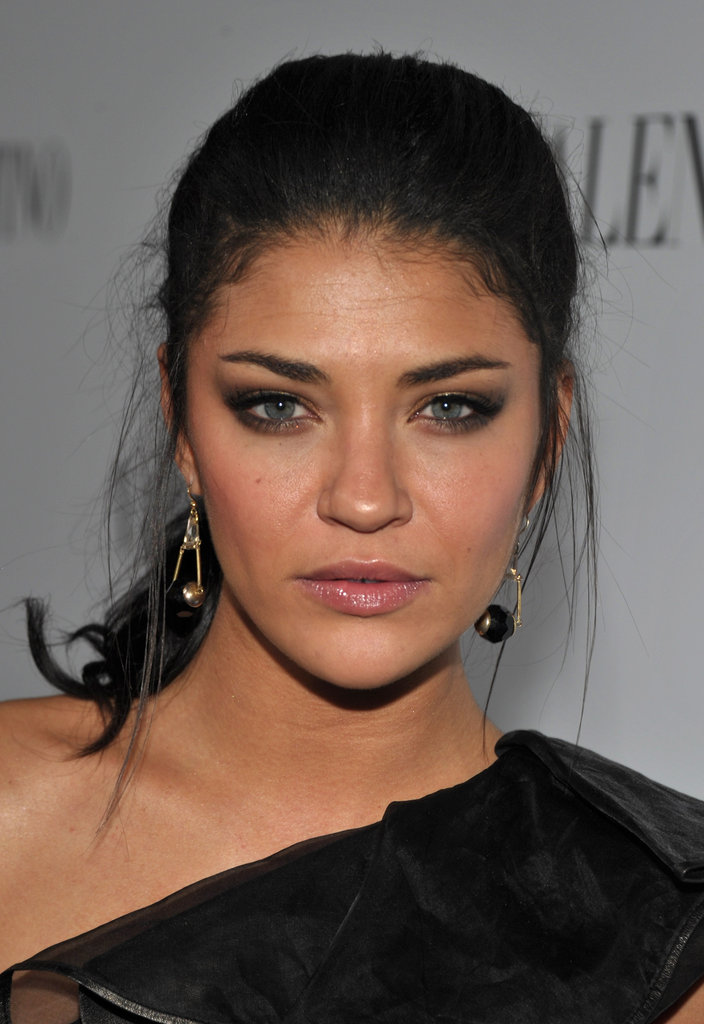 Jessica Szohr attended Valentino's 50th anniversary celebrations in LA.