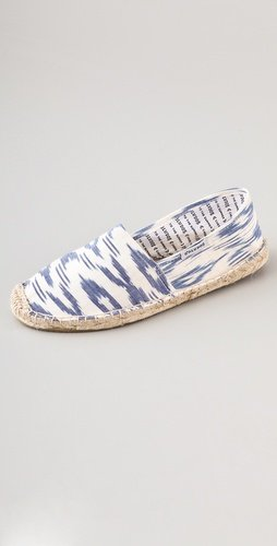 For more casual days, don flat espadrilles with a fun Spring-perfect print. Soludos Pico Flat Espadrilles ($42)
