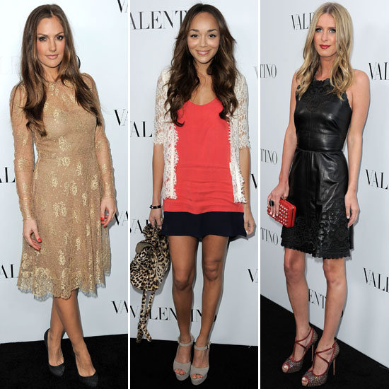 Celebrities at Valentino Store Opening Rodeo Drive