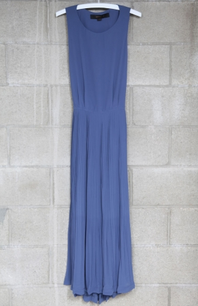 An ultra-easy way to channel the look — just slip on with a pair of heels and go.  Mikkat Market Pleated Maxi Dress ($67)