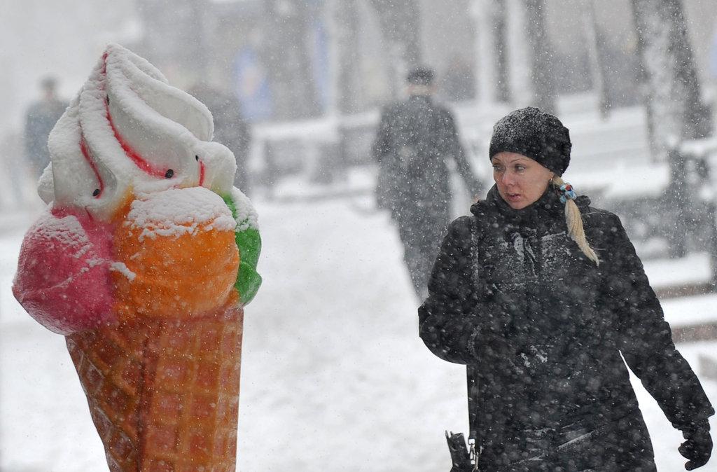 Cones in Kiev