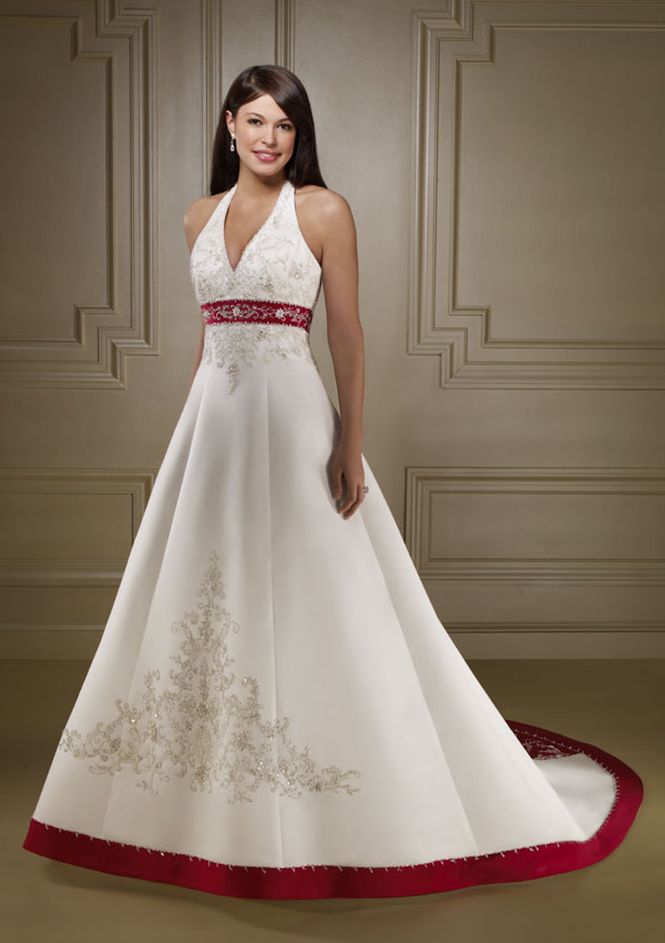 unique wedding dresses color