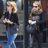 Emma Roberts Black Mini Celine Bag
