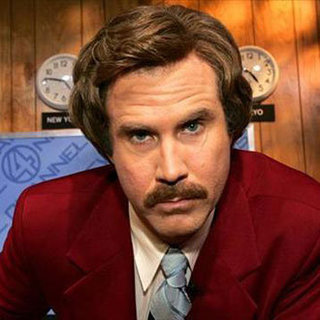 Will Ferrell's Anchorman Sequel Announcement on Conan Video