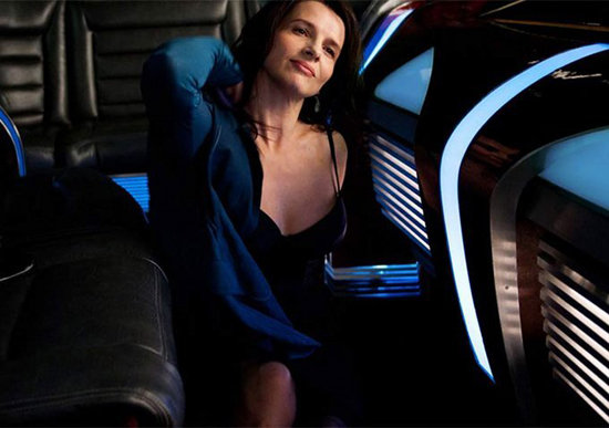 Juliette Binoche in Cosmopolis. Photo courtesy of Alfama Films