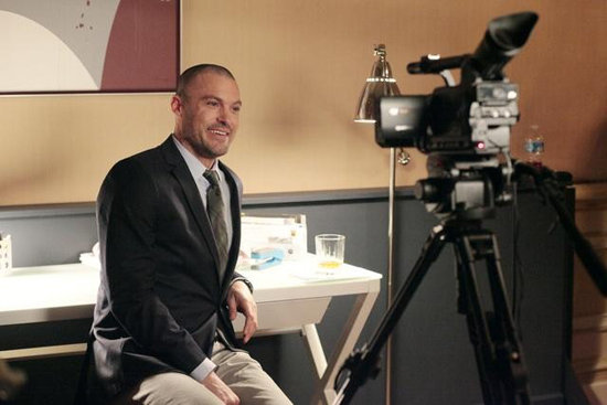 Brian Austin Green on Happy Endings. Photo copyright 2012 ABC, Inc.