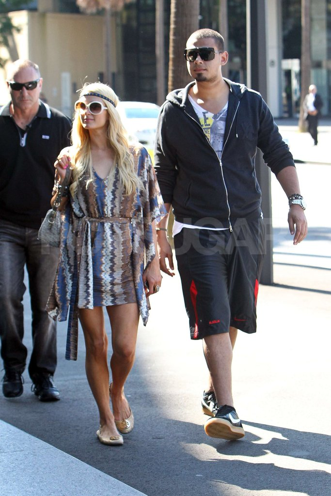 Paris Hilton and boyfriend DJ Afrojack in Australia together.