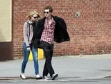 Andrew Garfield and Emma Stone walked around NYC today.