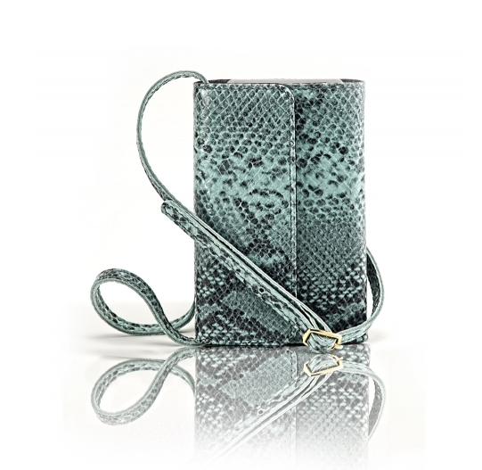 Mint crossbody iPhone case ($130)