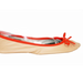 We love the neon orange piping here — a perfect pop of bright.