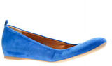 This refined suede version in a bold blue hue makes for a pair not worth taking off after the trek. J.Crew Cece Suede Ballet Flats ($128)