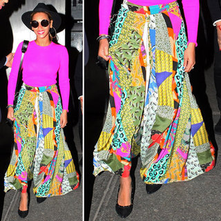 Beyonce Colorful Maxi Skirt
