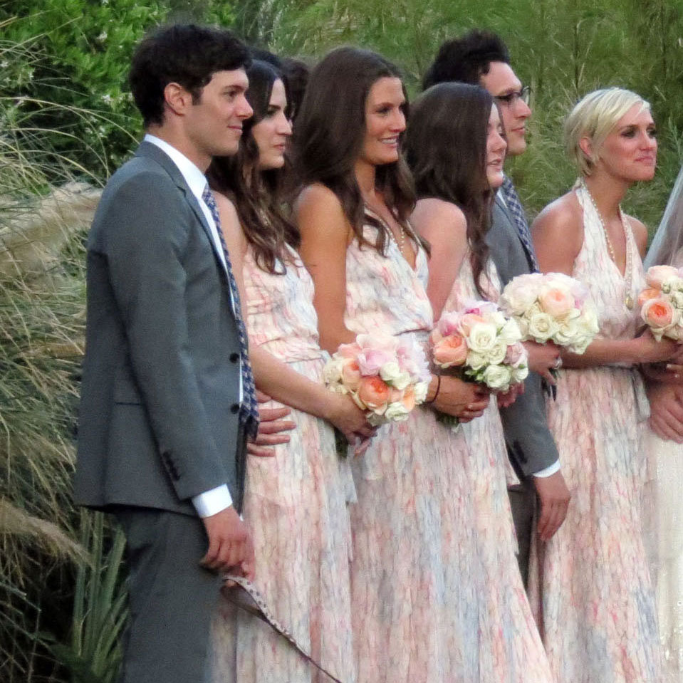 Adam Brody and Ashlee Simpson were just a few of the celebs in the wedding party at a Palm Springs bash in March 2012.