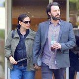 Jennifer Garner and Ben Affleck held hands.