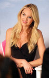 Candice Swanepoel posed for a Victoria's Secret event.
