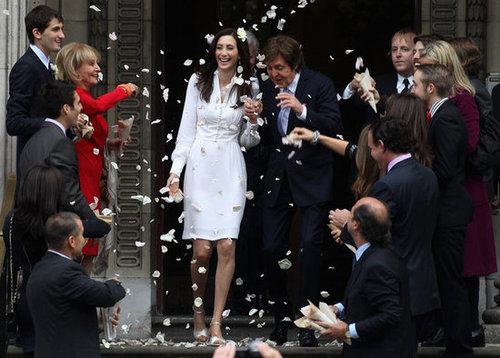 Nancy Shevell wed Paul McCartney in October 2011 in London.