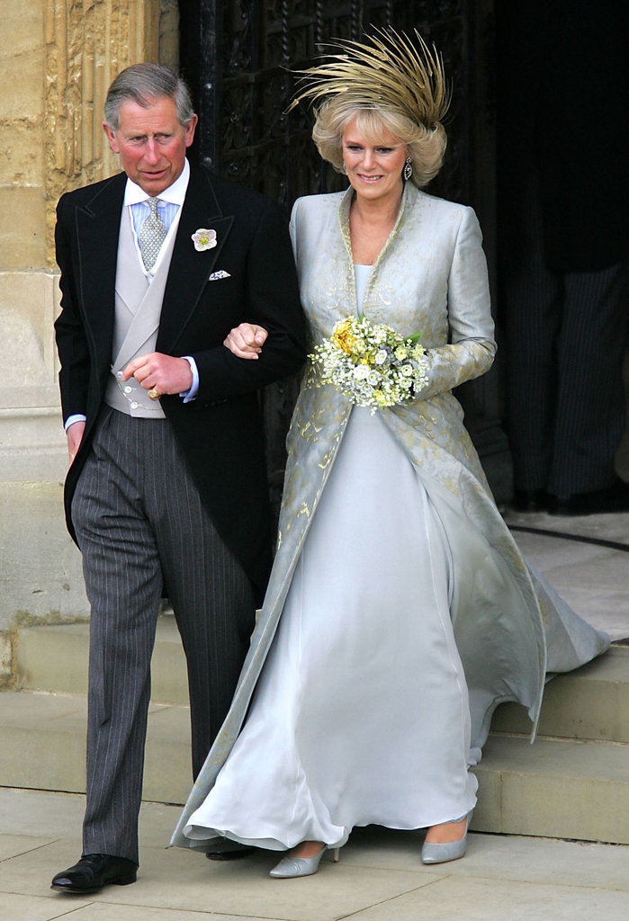 Prince Charles married longtime love Camilla Parker-Bowles, the Duchess of Cornwall, at Windsor Castle in April 2005 in England.