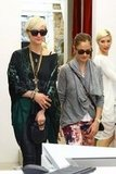 Minka Kelly and Ashlee Simpson shopped in Sydney together.