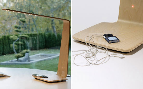 Tunto LED Lamp and Wireless Charger ($1406)