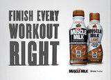 Don't forget to refuel after your workout with a Muscle Milk Light — packed with 25 grams of protein and 20 essential vitamins and minerals, this delicious protein-packed beverage will help your muscles recover and provide your body with sustained energy to stay on top of your fitness game.