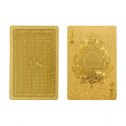 Gold Playing Card Set - IDEA