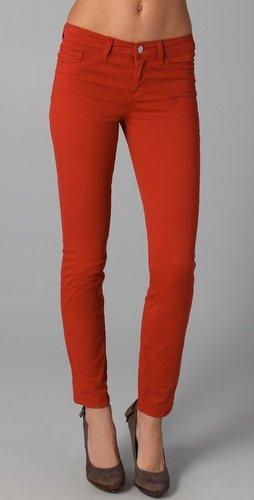 J Brand 811 Mid Rise Skinny Pants