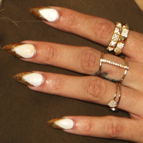 Guess Which Singer Turned Actress Debuted a Sci-Fi Mani at a Photocall in London?