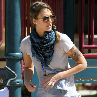 Jessica Alba Arm Tattoo Pictures