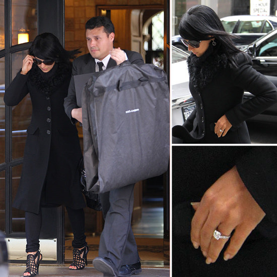 Alec Baldwin's Fiancée Hilaria Thomas Shows Off Her Engagement Ring!