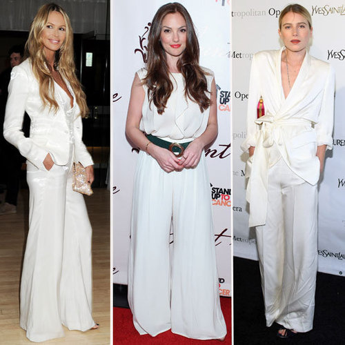 Celebrities White Suits 2012