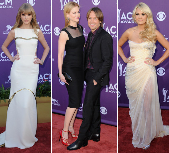 Taylor, Nicole, Keith, Carrie and More Celebrate the Academy of Country Music Awards