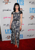 Krysten Ritter at the premiere of Life Happens in Century City.