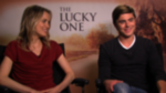 The Lucky One's Zac Efron and Taylor Schilling Talk Love Scenes