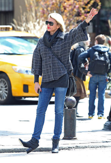 Cameron Diaz realized how difficult it is to find a taxi in NYC.