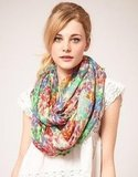 We love this floral-inspired snood — let the color stand out against white pieces. Pieces Nola Snood ($29)