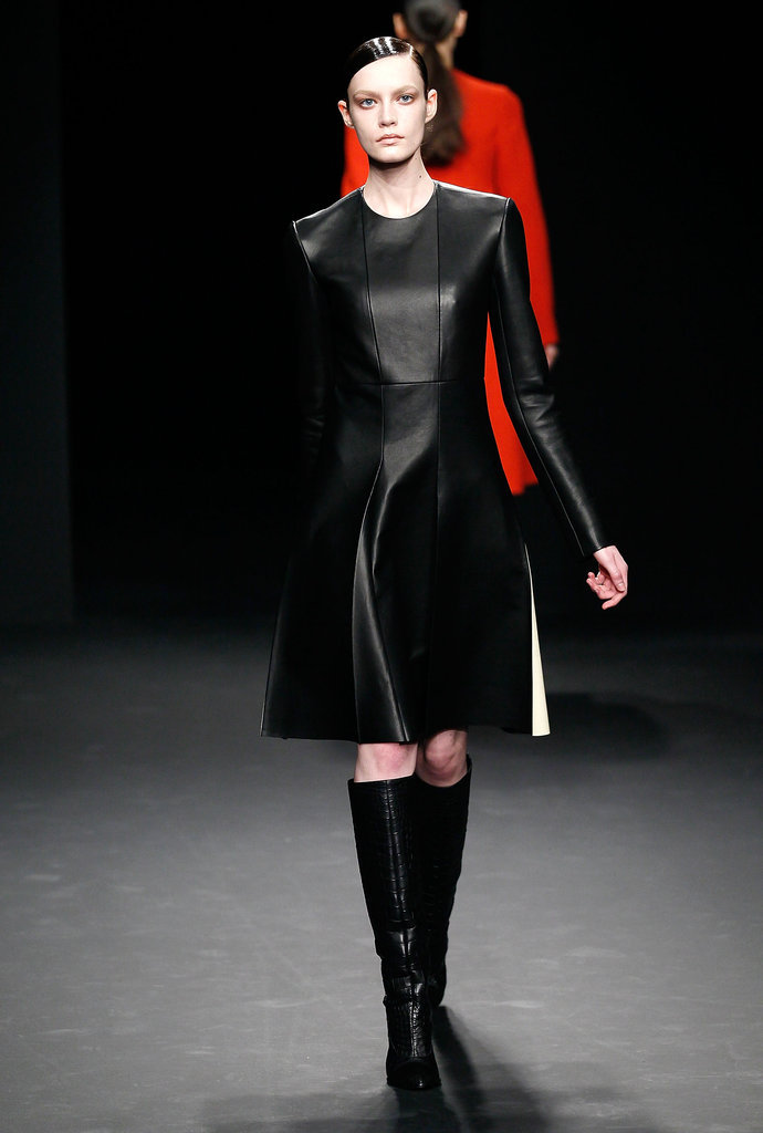 A look from Calvin Klein's Fall 2012 collection.