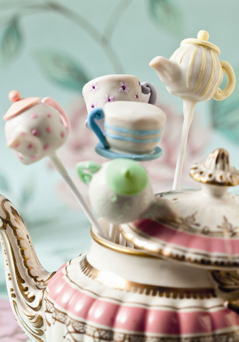 Tea Time Cake Pops