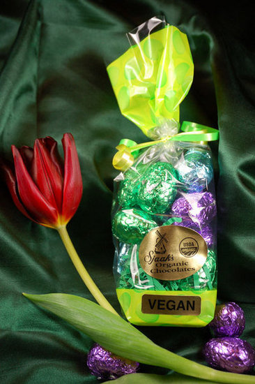 A Dark Chocolate Egg Bag ($10) full of pastel hues makes for Easter candy success.