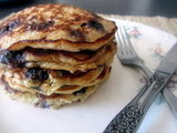Lemon Blueberry Quinoa Pancakes
