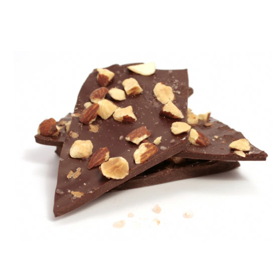 If the hollow bunnies are not your thing, this Springtime Salted Almond Bark ($15) will still get you excited about the new season.