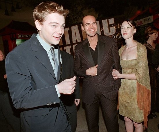 Leo enjoyed himself at the 1997 Hollywood premiere of Titanic.