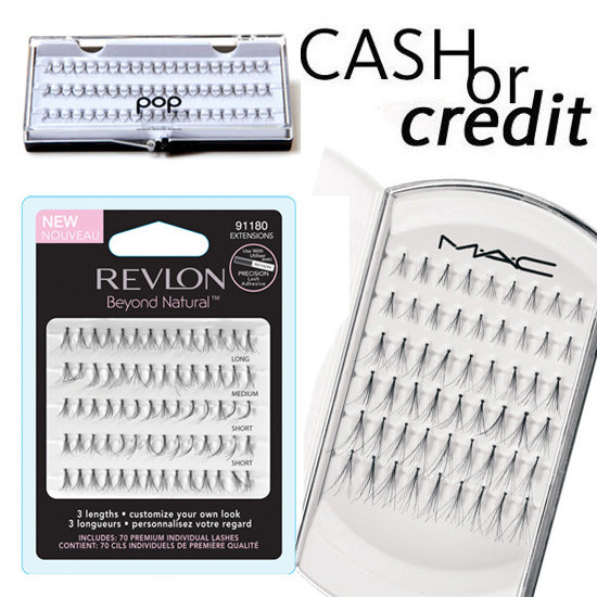 Cash or Credit: Lash Out and Get a Fuller Flutter With Individual Lashes