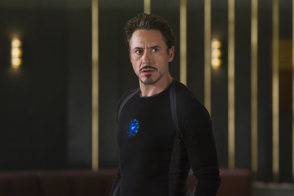Robert Downey Jr. as Iron Man in The Avengers.  Photo courtesy of Disney