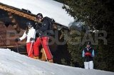 Prince William and Kate Middleton were joined by Pippa Middleton on the mountain during a ski vacation in France.