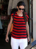 Katie Holmes Hops Into Spring on the West Coast